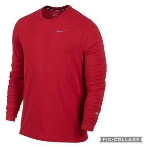 Nike Running Contour Long Sleeve Shirt Dri-Fit